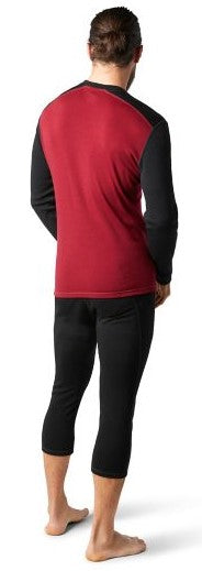 Men's Smartwool Merino 250 Baselayer Crew - Red