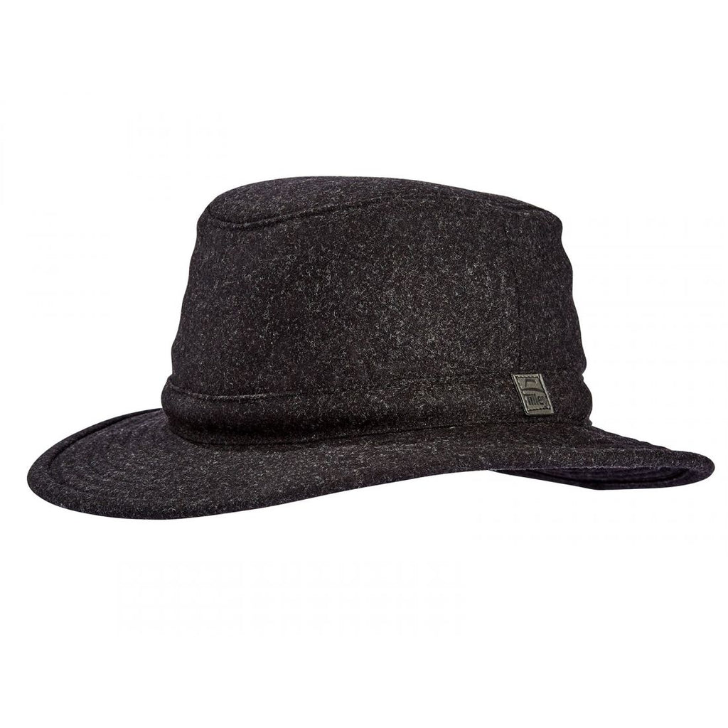Unisex Tilley TTW2 Tec Wool Hat - Black