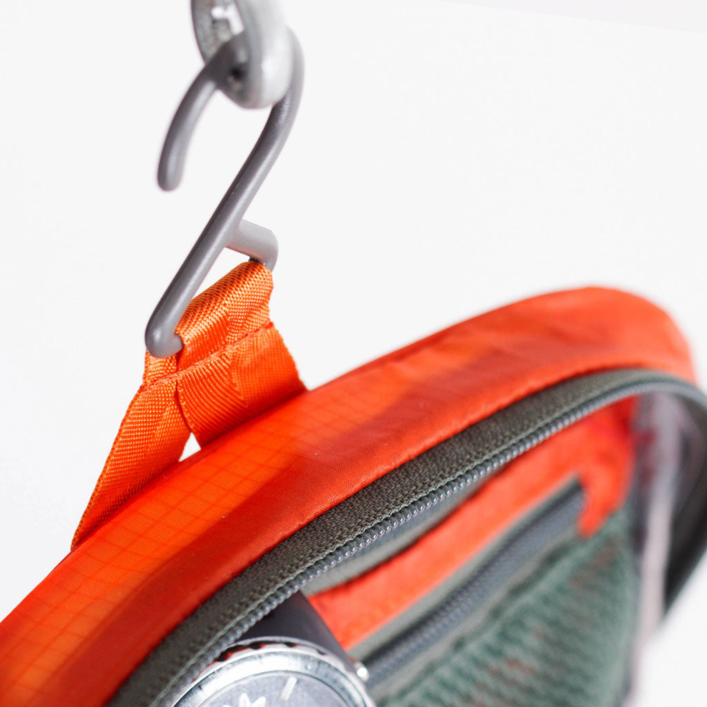 Osprey Travel Washbag Ultralight Zip Poppy Orange