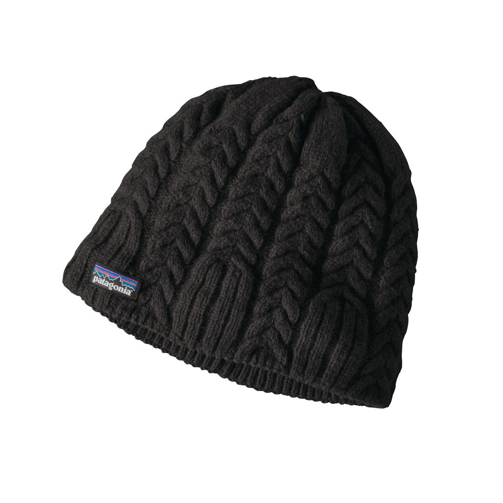 Patagonia Hat Women's Cable Beanie Black