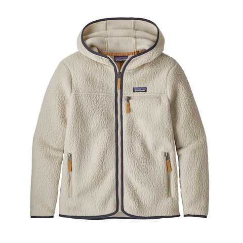 Patagonia FLEECE Jacket Women's Retro Pile Hoody Pelican