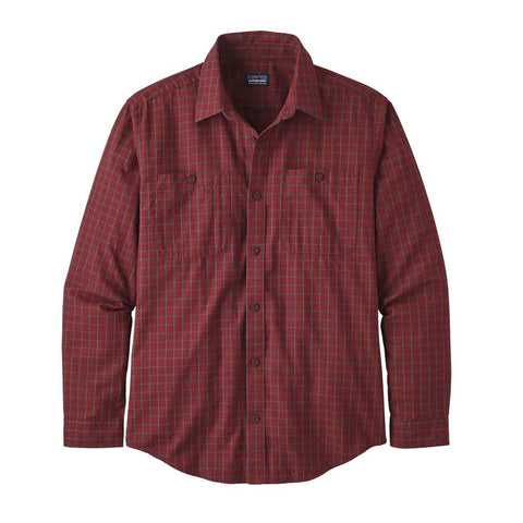 Patagonia Shirt Men's Pima Cotton Prime:Molten Lava
