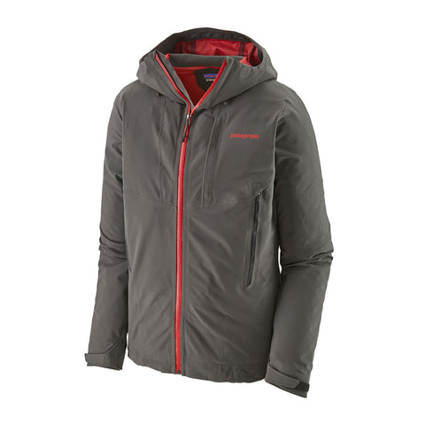 Patagonia WATERPROOF Jacket Men's Galvanized Forge Grey