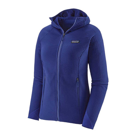 Patagonia FLEECE Jacket Women's R2 TechFace Hoody Cobalt Blue