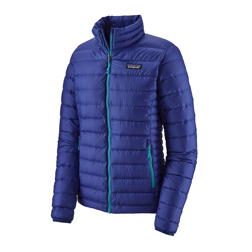 Patagonia INSULATED Jacket Women's Down Sweater Cobalt Blue/Curacao