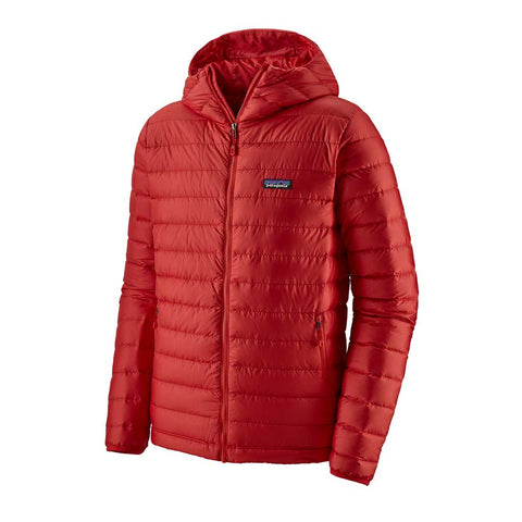 Patagonia INSULATED Jacket Men's Down Sweater Hoody Fire/Fire