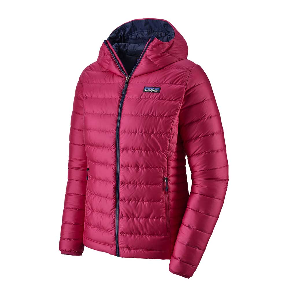 Patagonia INSULATED Jacket Women's Down Sweater Hoody Craft Pink/Navy
