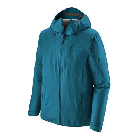 Patagonia WATERPROOF Jacket Men's Ascensionist Balkan Blue