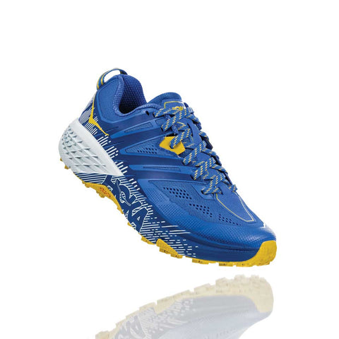 Hoka Running Shoes Women's Speedgoat 3 Palace Blue/Bamboo