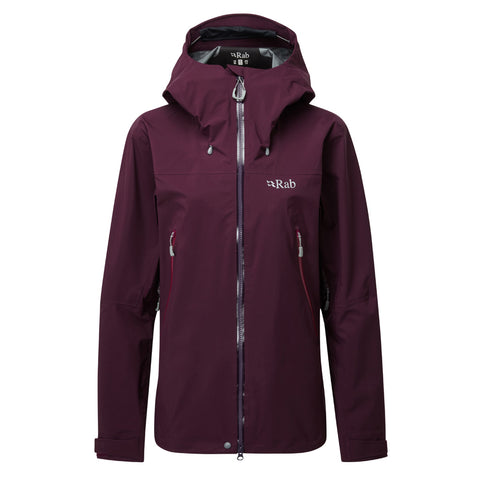Rab WATERPROOF Jacket Women's Kangri GTX Eggplant