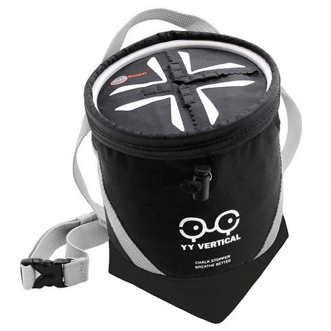 Y And Y Chalk Stopper Chalk Bag - Black