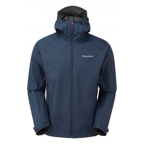 Montane Men's Atomic Jacket- Narwhal Blue