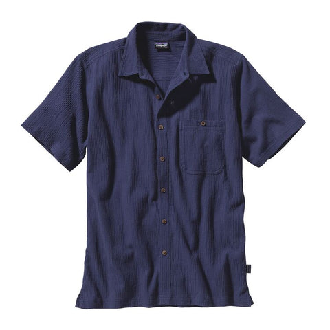 Patagonia Men's A/C Buttondown Shirt- Classic Navy