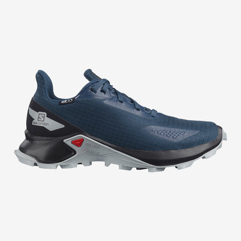Salomon Kids' Alphacross Blast Climasalomon™ Waterproof - Blue