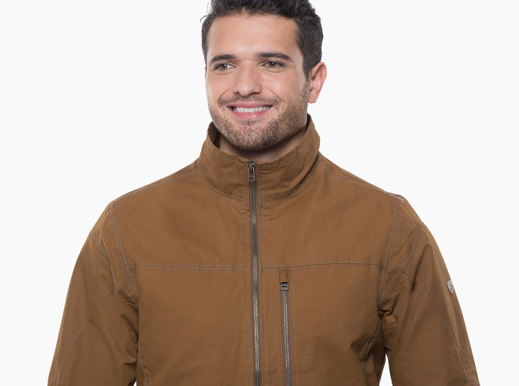 Kuhl Men's Burr Jacket- Gun Metal