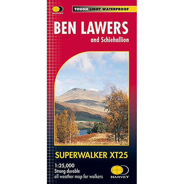 Harvey Map - Superwalker XT25: Ben Lawers and Schiehallion