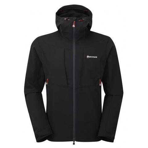 Montane Men's Dyno Stretch Jacket- Black