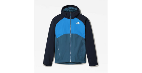 Men's North Face Stratos Waterproof Jacket - Blue