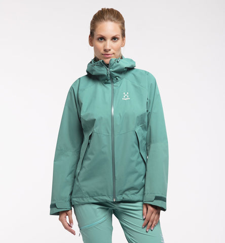 Haglofs Women's Esker Jacket- Willow Green