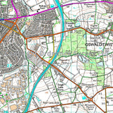 OS Explorer ACTIVE Map 287 West Pennine Moors