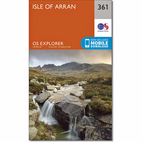 OS Explorer ACTIVE Map 361 Isle of Arran