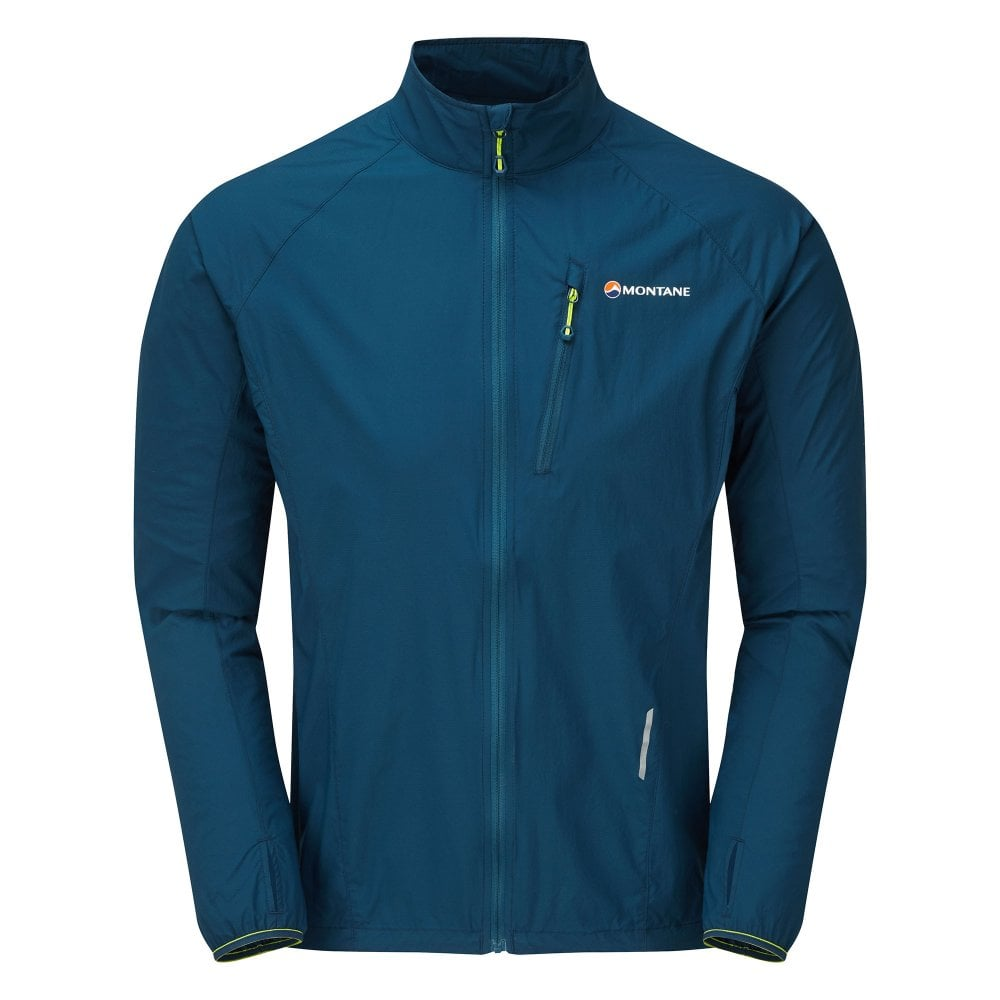 Montane Men's Featherlite Trail Jacket- Narwhal Blue