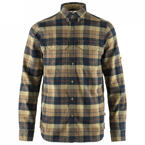 Fjallraven Men's Singi Heavy Flannel Shirt - Dark Sand