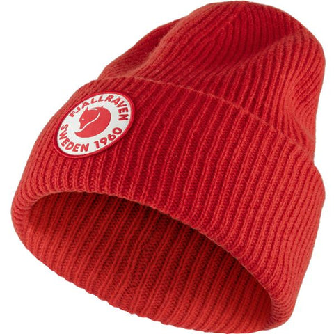 Fjallraven Unisex 1960 Logo Hat- True Red