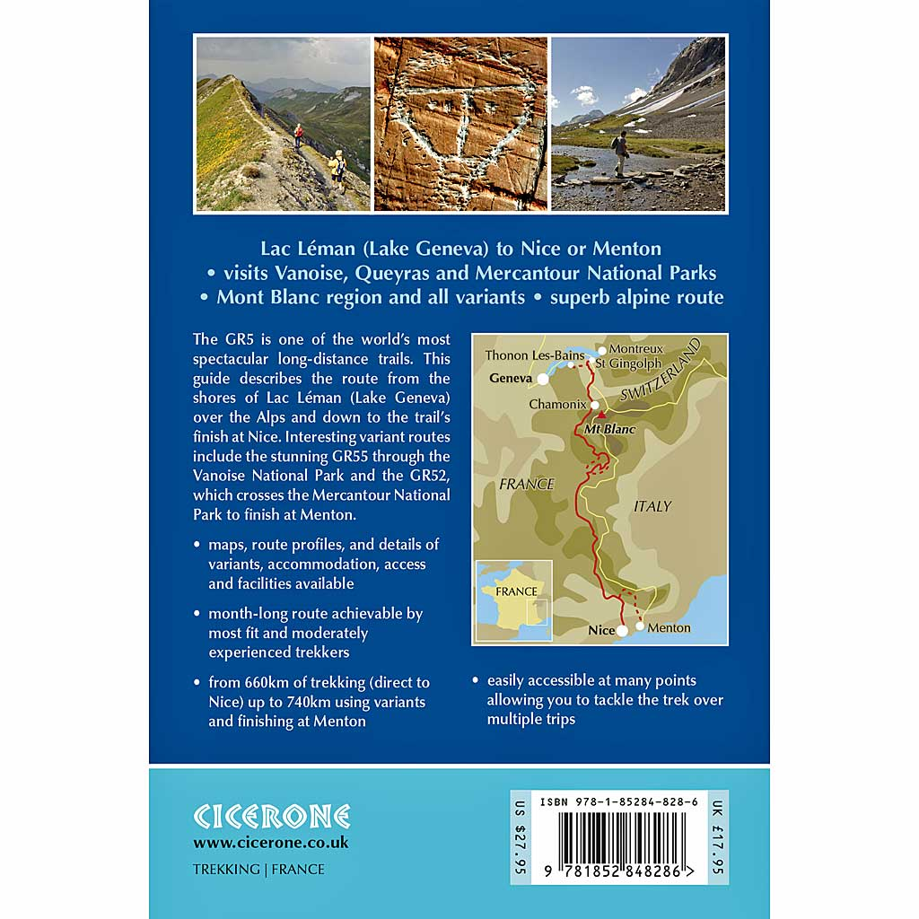 Cicerone Guide Book: Trekking The GR5 Trail