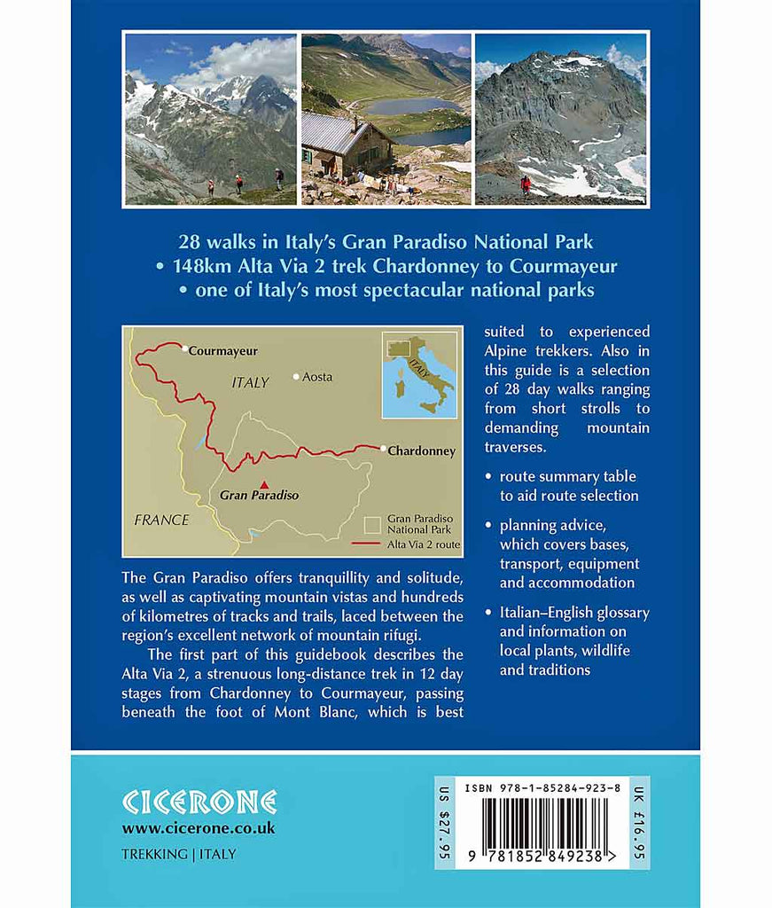 Cicerone Guide Book: Walking and Trekking in the Gran Paradiso