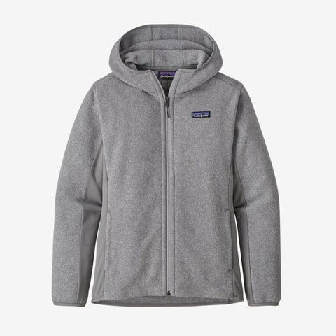 Patagonia Women's Lw Better Sweater Hooded Jacket - Feather Grey