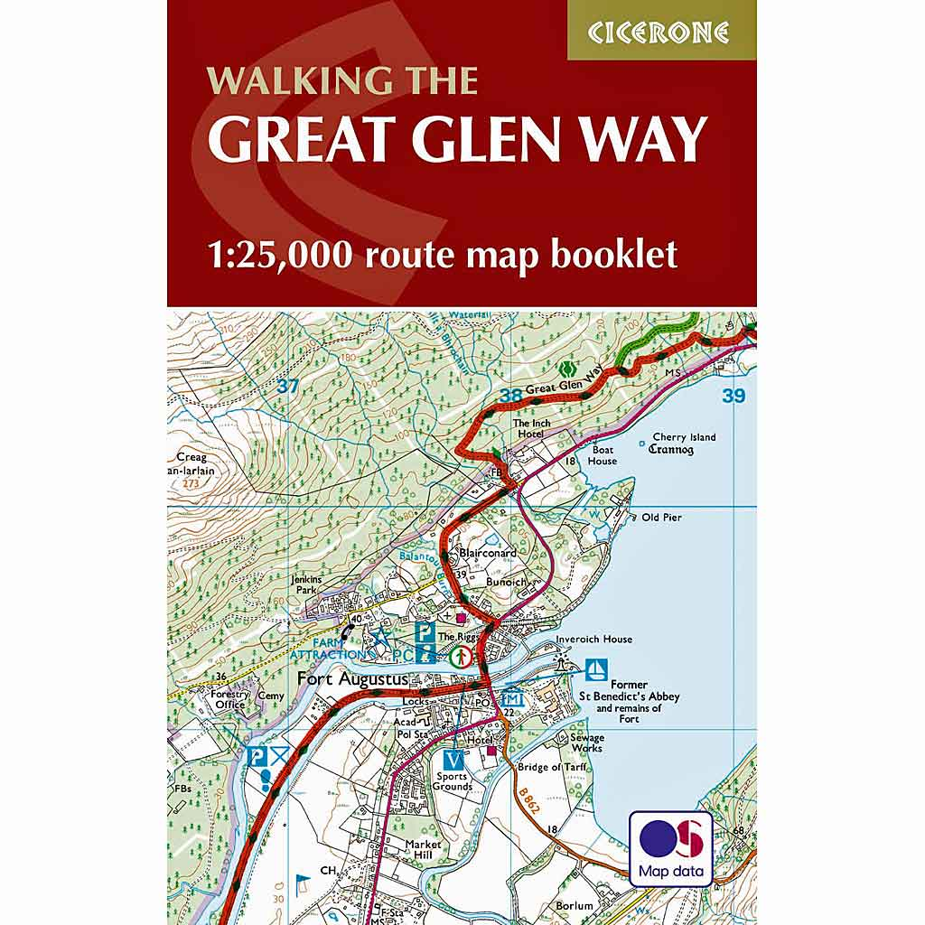 Cicerone Walking Guide Book: The Great Glen Way