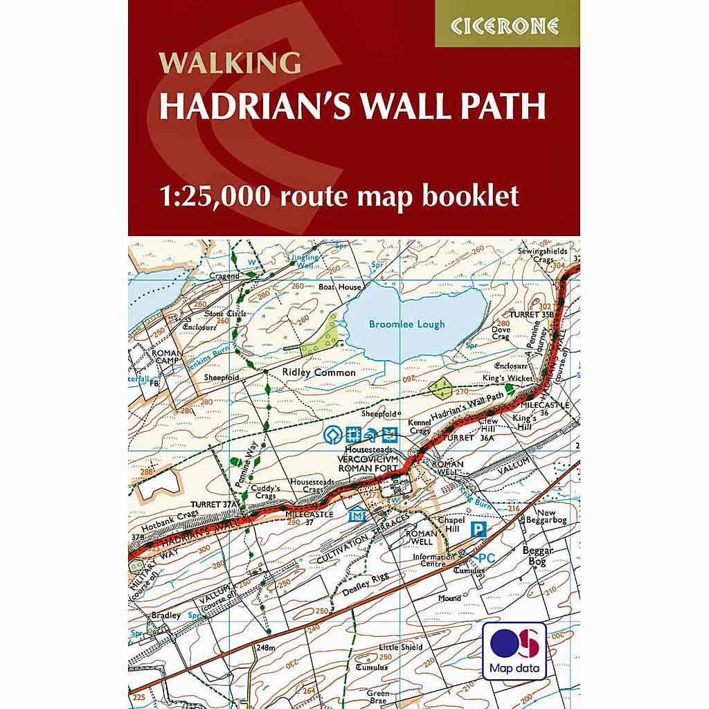 Cicerone Guide Book: Walking Hadrian's Wall Path: Mark Richards