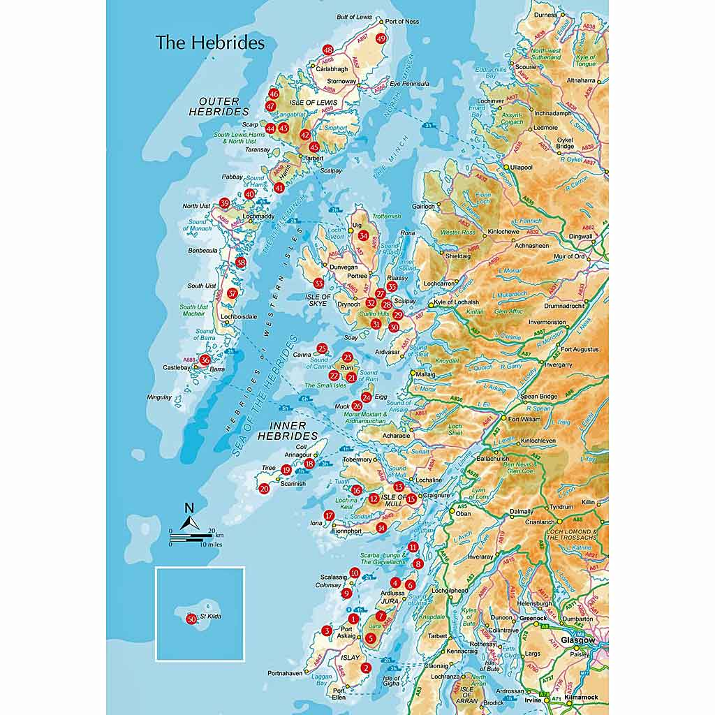 Cicerone Guide Book: The Hebrides