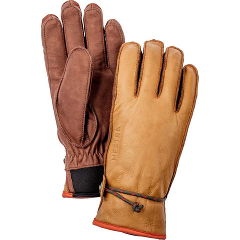 Hestra Ski Gloves Wakayama Leather Brown