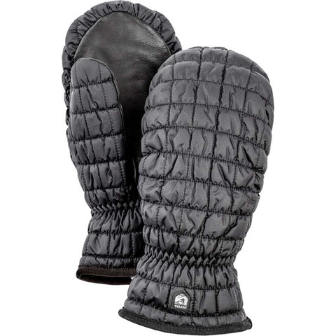 Hestra Gloves Unisex Moon Light Primaloft Mitts Black