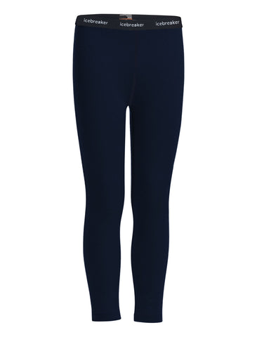 Kids' Icebreaker 200 Oasis Leggings - Navy