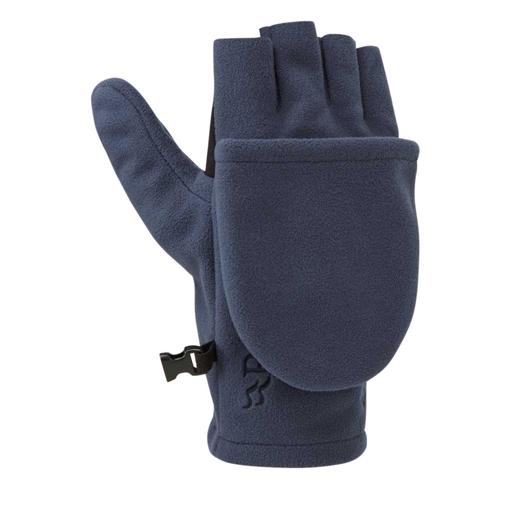 Rab Gloves Infinium WINDPROOF Convertible Mitts Deep Ink