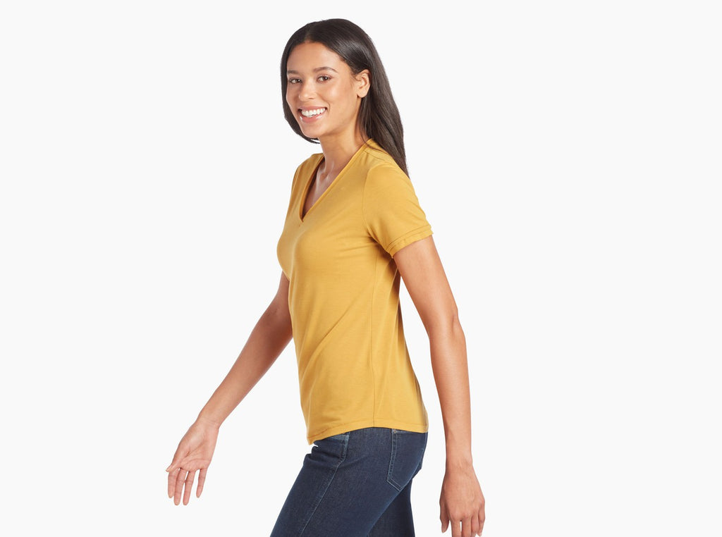Kuhl Women's Juniper Short Sleeve T-shirt- Golden