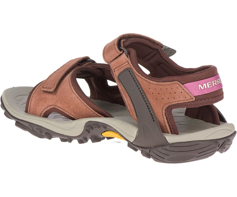 Merrell Women's Kahuna 4 Strap- Chocolate