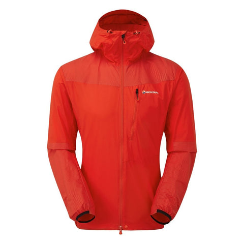 Montane Men's Lite-speed Jacket- Flag Red