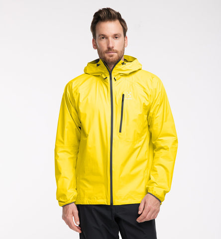Haglofs Men's L.I.M Jacket- Signal Yellow