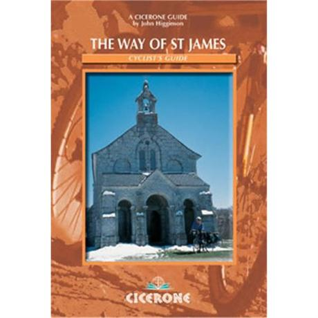 Cicerone Guide Book: The Way of St James - Cyclist's Guide