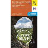OS Explorer ACTIVE Map OL24 The Peak District - White Peak