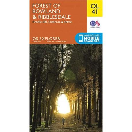 OS Explorer Map OL41 Forest of Bowland & Ribblesdale