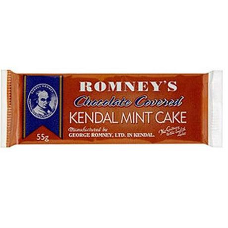 Romney's Kendal Mintcake Chocolate Small 55g