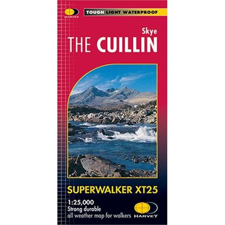 Harvey Map - Superwalker XT25: Skye The Cuillin