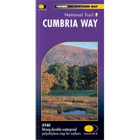 Harvey Map - XT40: Cumbria Way