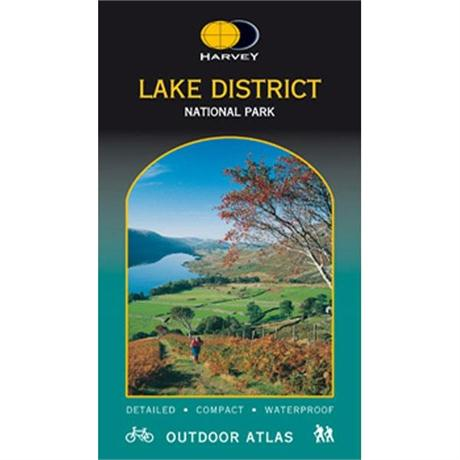 Harvey Map: Lake District Outdoor Atlas