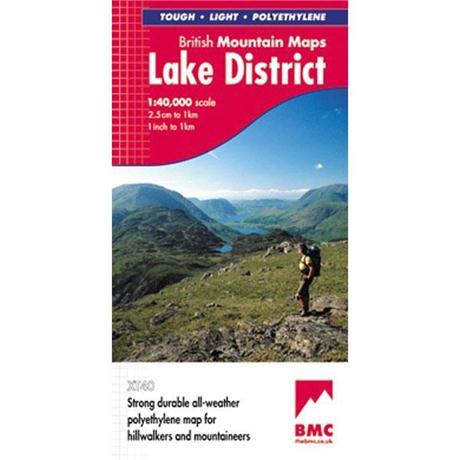 BMC: Lake District: British Mountain Maps